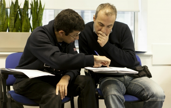 estudantes de inglês adultos em Londres