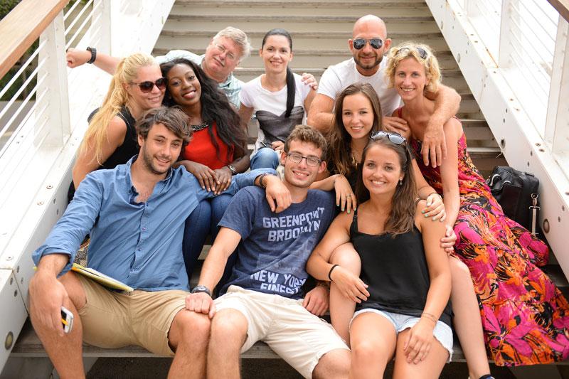 estudantes de inglês adultos em Sliema