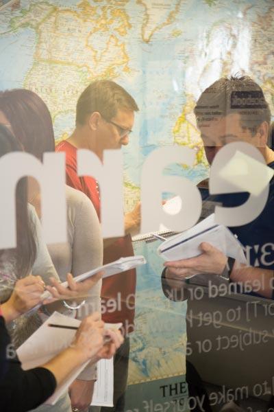 Aulas de inglês individuais na ilha de Malta, exercício dinâmico